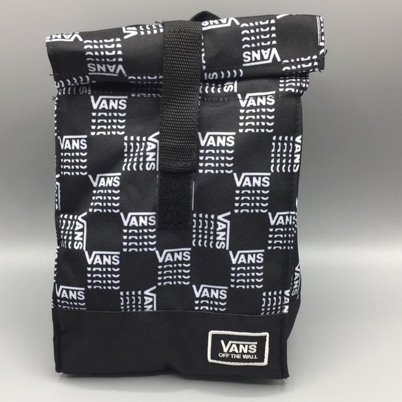 VANS OFF THE WALL Insulated Fold Over Lunch Pack
